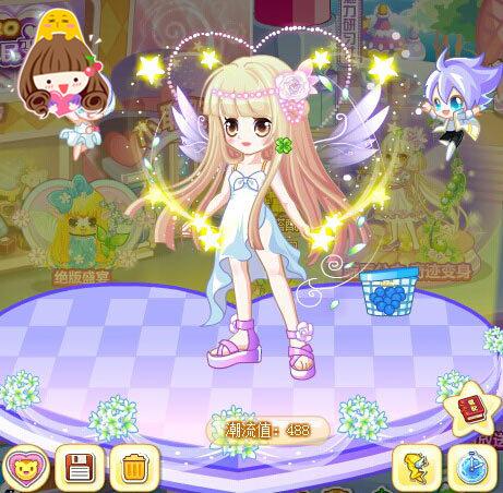 奥比岛魔女菲娜魔法时装秀