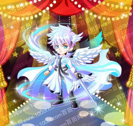 奥比岛天使王子套装服装图鉴