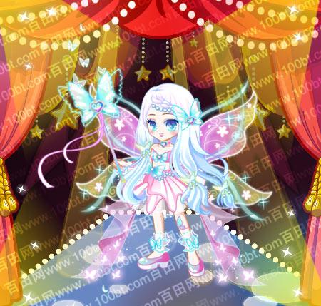 奥比岛 魔力服饰 奥比岛彩梦公主蝴蝶装服装图鉴  包含部件 彩梦蝴蝶