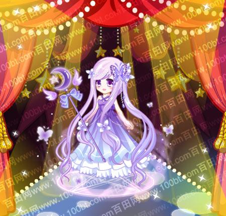 奥比岛 魔力服饰 奥比岛花蝴蝶女神装图鉴  包含部件 花蝴蝶女神美妆