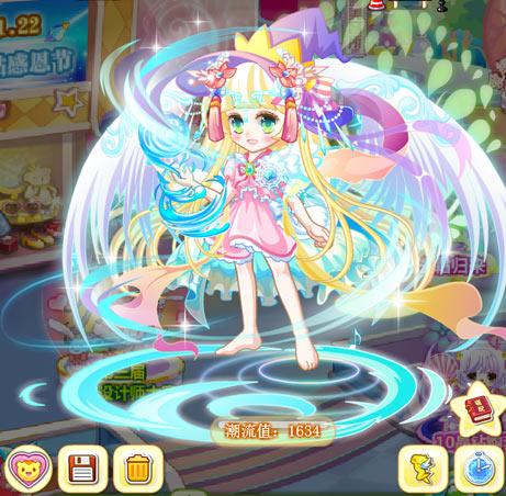 奥比岛梦幻的翅膀魔法时装秀
