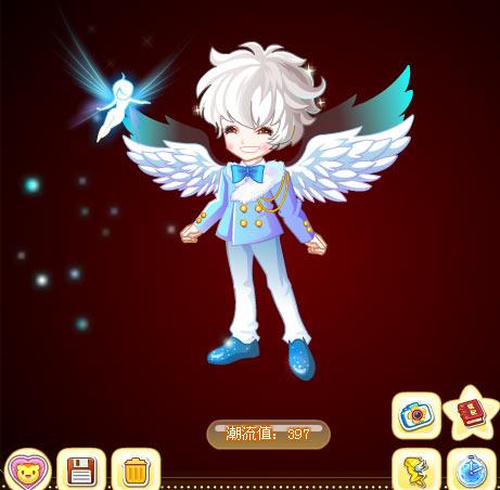 奥比岛天使魔法时装秀