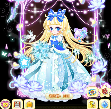 奥比岛梦幻的婚礼魔法时装秀