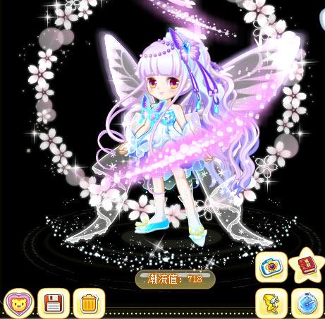 奥比岛蝶花魔法时装秀