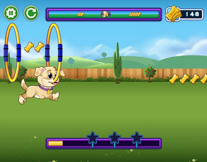 我和狗狗的游戏时间