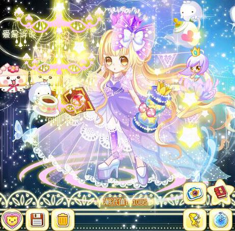 奥比岛城堡魔女魔法时装秀