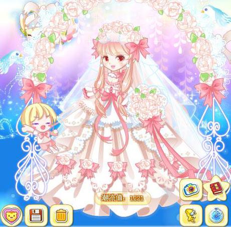 奥比岛梦幻婚礼魔法时装秀