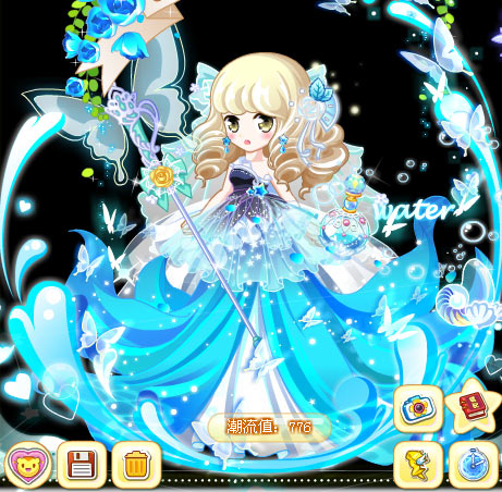奥比岛云枫魔法时装秀