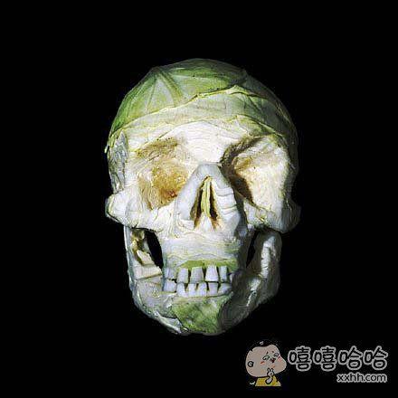 这种蔬菜艺术雕刻。。。。。我有点方!
