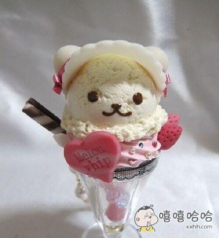 这样的冰淇淋你舍得吃吗?