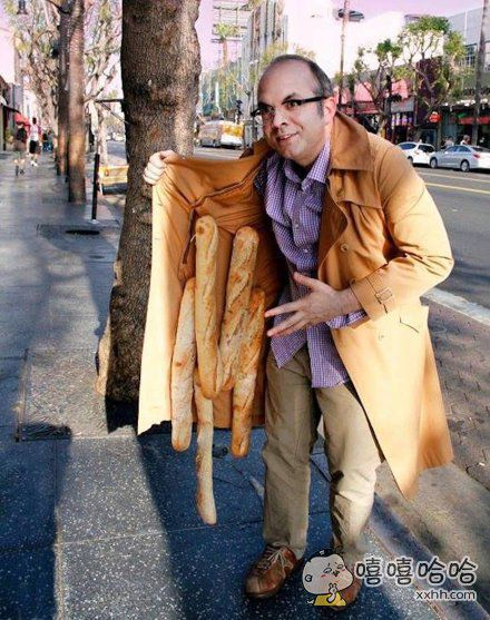 热乎的新鲜面包要不要?