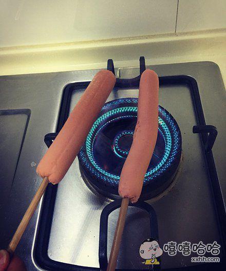就是突然想吃烤肠了
