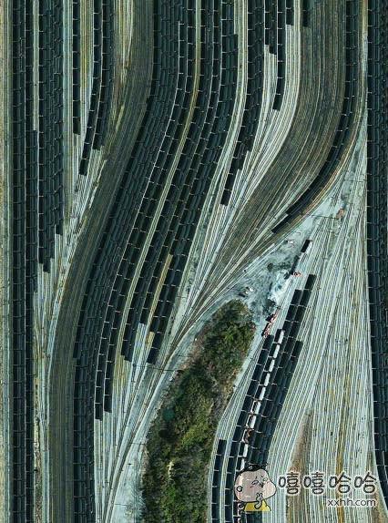 一张扭曲的交通图