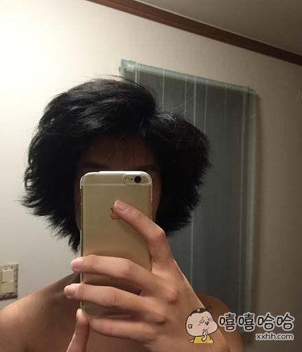 半年没有剪头发的结果