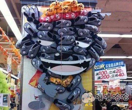 超市的理货阿姨有点厉害啊