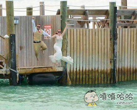 夫妻双双把海跳~