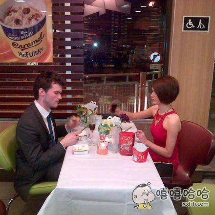 相亲男说要请我吃西餐