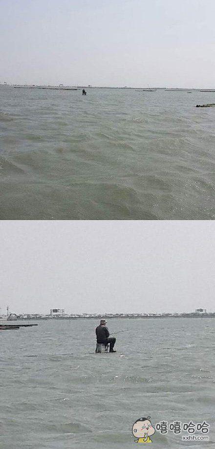 分享一位钓鱼高手
