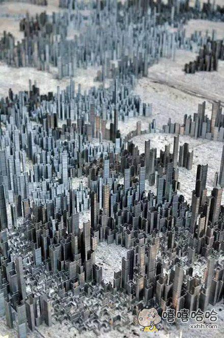 订书钉城市
