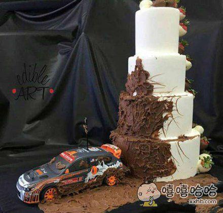 赛车手的生日蛋糕!