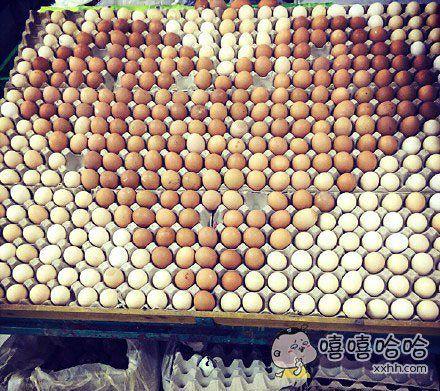 现在超市也是不得了!卖个鸡蛋都要这么拼