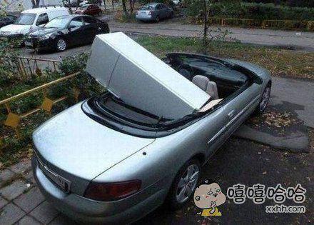 敞篷跑车实在是太实用了