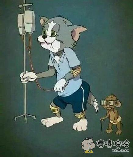 汤姆猫和杰瑞鼠今年76岁啦!我们喜羊羊很顺溜很年轻~~