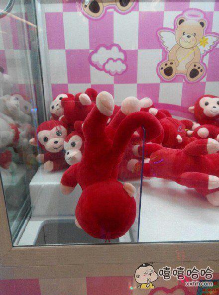 猴子:好险!