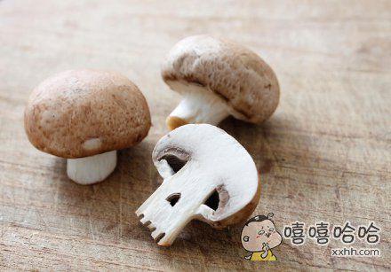 这蘑菇有毒。