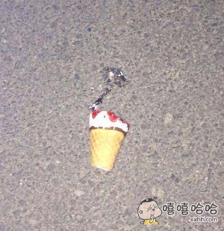 大冬天吃个冰淇淋容易吗!!!
