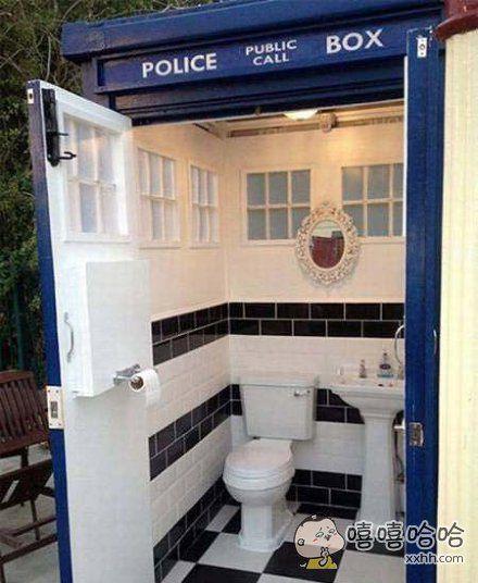 警察专用厕所?