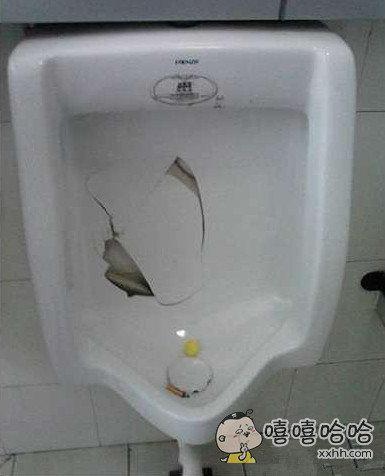 谁憋尿憋的这么急,尿池都废了