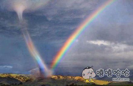 彩虹龙卷风