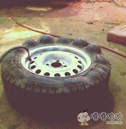 一枚取经路上的轮胎