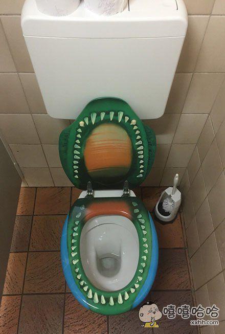 这厕所敢上嘛