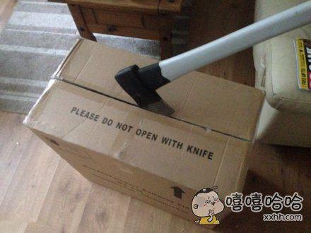 既然不能用刀,那就只能这样了