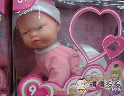 确定不会吓坏宝宝吗?