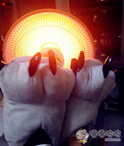 脚冷暖下脚,不知道为啥媳妇口水直流。。