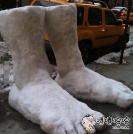 外星人的大脚吗?