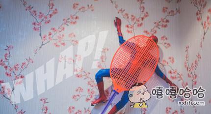 不小心把蜘蛛侠拍死了