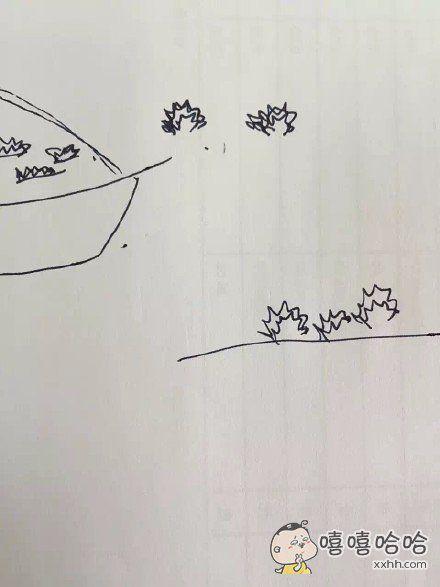朋友画了这幅画问这种海鲜叫什么,薄白脆,堆成一堆的,