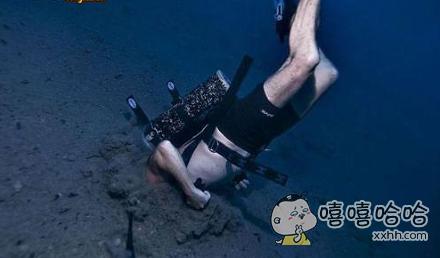 潜水员的杯具