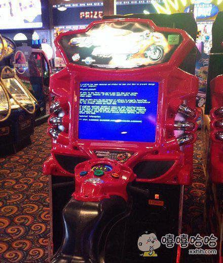 游戏机也蓝屏么。