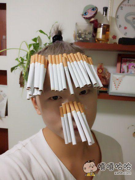 所以你是找了一份卖烟的工作么?