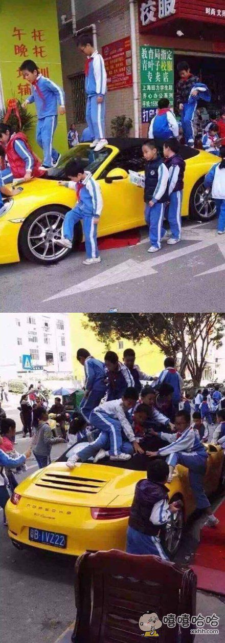 有个小哥说他媳妇交代接孩子不要把车停学校门口,他不听。
