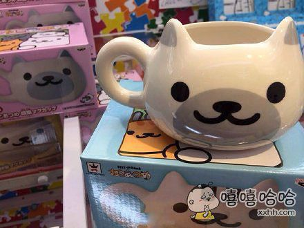 猫脸马克杯,你们感受到这个官方的狂气了么