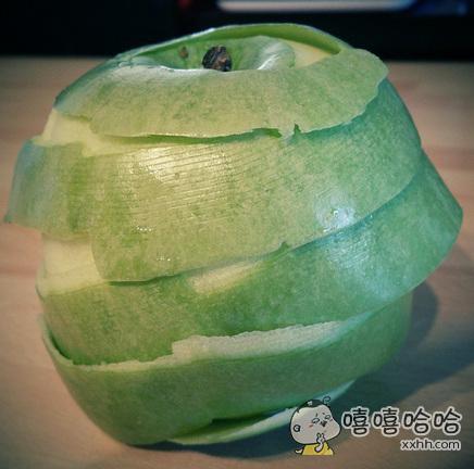 没有学过削苹果的人永远不会明白这有多爽~~