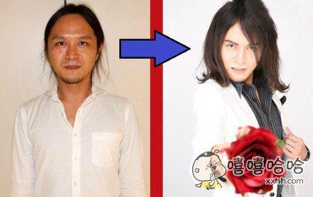 男人化妆之后的变化!