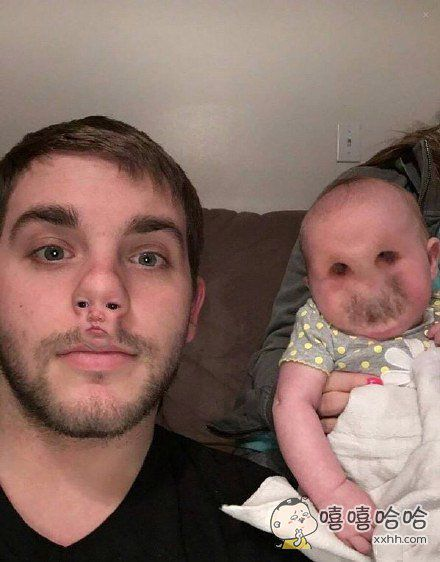 歪国一位爸爸用换脸软件换脸失败