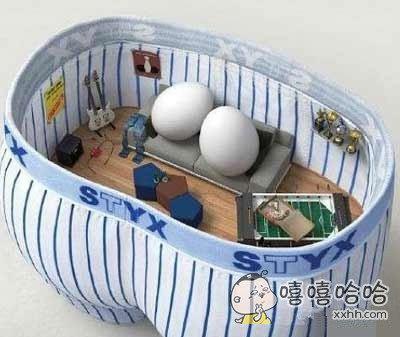给蛋蛋一个舒适的空间